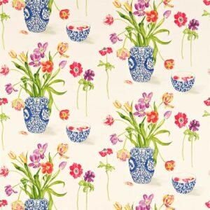 A Painters Garden Fabric